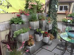 vertical gardening cinderblock garden small space gardening