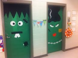 project halloween door decoration ideas vintage halloween