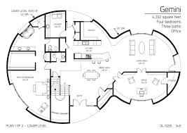 four square floor plan floor plans 4 bedrooms monolithic dome institute