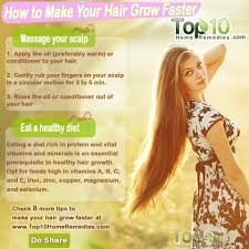 how to make your hair grow faster how to make your hair grow faster top 10 home remedies