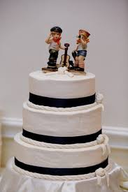 nautical cake toppers wedding ideas brilliant ideas of robot wedding cake topper for