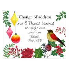 change of address cards invitations greeting photo