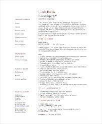 best solutions of hospital housekeeping resume sample with example