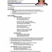 resume for application format sle resume letters application sle of resume letter for