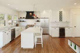 white kitchen cabinets wood floors 7 tips for wood flooring in a kitchen bob vila