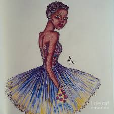 safieri the at the african prom digital art by miss kitoko