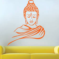 guatum buddha religious easy peel u0026 stick wall decal vinyl