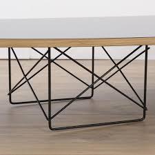 herman miller vintage original eames elliptical table black top