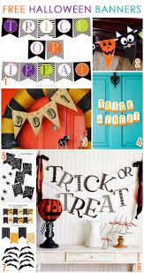 Free Printables For Halloween by 7 Free Printable Halloween Banners Pizzazzerie