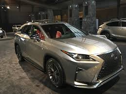 xe lexus rx350 f sport top 10 cars featured at this year u0027s 2017 philadelphia auto show