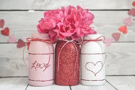Valentine S Day Flower Decor by Valentine U0027s Day Mason Jar Decor Or Gift Jars Ka Styles