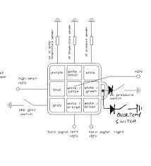 relay flasher circuit wiring diagram components