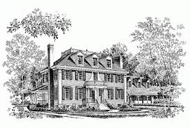 house plans historic eplans georgian house plan historical adaptation with gracious
