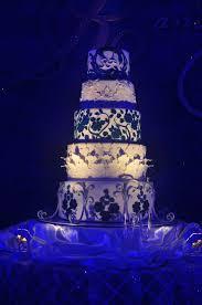 Emily Bakes Cakes Blue Chinese Wedding Cake