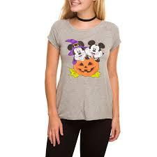 Mickey Mouse Halloween Shirt by Disney Minnie Mickey Mouse Halloween Shirt Size S M L Xl New Ebay