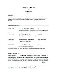 examples of a good objective for a resume examples of resumes