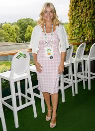 willoughby dresses willoughby and amanda holden sport tennis whites for wimbledon