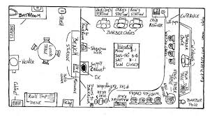 Shop Floor Plan Coffee Shop Layout Floor Plan Possible Cafe Layout Flickr Photo