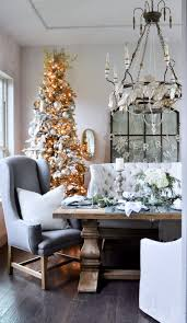 classic christmas dining room tour decor gold designs