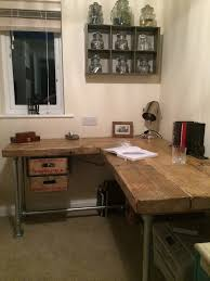 Modern Industrial Desk Perfect Industrial Style Office Furniture And Buy A Hand Made