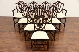 shield back dining room chairs mahogany dining chairs shield back