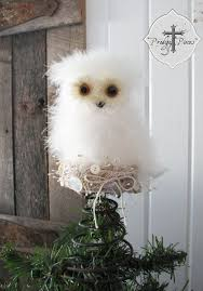 White Owl Christmas Decorations by 24 Best Christmas Tree Toppers Images On Pinterest Christmas