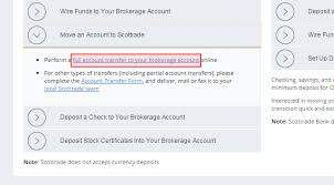 how to fund your online trading account scottrade