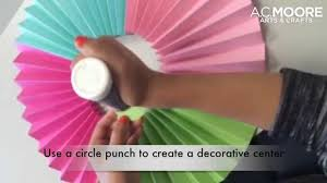 one more minute how to diy paper medallions youtube