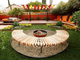 Firepit Designs Backyard Pit Ideas Landscaping Kit In Ground With