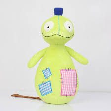 patchy patch plush soft toy toopy and binoo stuffed green doll