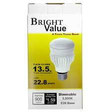 60w Led Light Bulb by Toyota Tsusho T A19 13 3000 13 5 Watt Dimmable Led Light Bulb