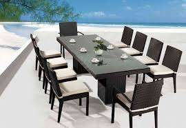 cool outdoor dining furniture sets alluring dining room interior