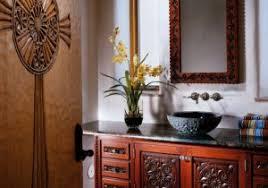 Santa Fe Style Interior Design by Bathroom In Spanish Spanish Style Home Bathroom Bathroom In