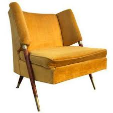 Yellow Accent Chair Vintage U0026 Used Yellow Accent Chairs Chairish