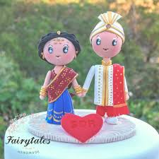 indian wedding cake toppers indian wedding cake topper fairytales handmade