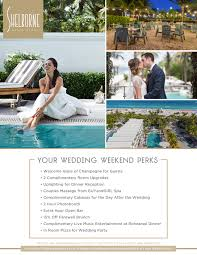 wedding venues in south beach miami shelborne south beach