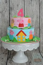 George Pig Cake Decorations Best 25 Peppa Pig Cakes Ideas On Pinterest Peppa Pig Birthday