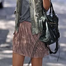 Looks modernos com roupas e acessórios com franjas