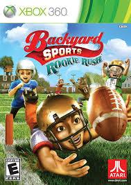 amazon com backyard sports football rookie rush nintendo wii