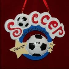 soccer ornaments to personalize 81 best soccer ornaments images on christmas