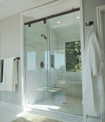 Frameless Slider Shower Doors Frameless Glass Shower Doors Enclosures Clayton S Glass