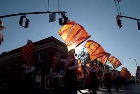 Virginia Flags Virginia Tech Celebrates 85 Years Of Homecoming Beginning Oct 16