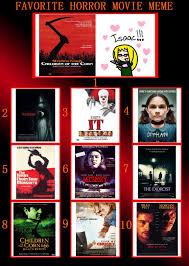 Horror Movie Memes - horror movie meme by otaku mookers on deviantart