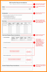 it support report template 7 audit report template resumed