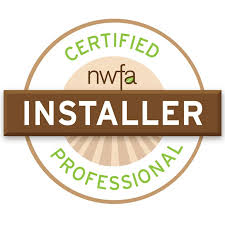 national wood flooring association badges and certifications