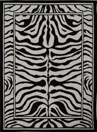 Zebra Area Rug Modern Leopard Animal Print Area Rug 8x11 Zebra Safari Carpet