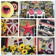western decorations for classroom iron