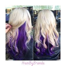 dye bottom hair tips still in style best 25 purple underneath hair ideas on pinterest dyed hair