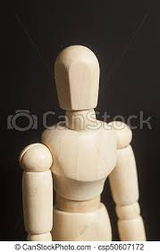 wooden artist mannequin wooden artist mannequin on black background picture search photo