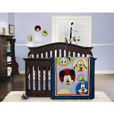 Mickey Mouse Crib Bedding Sets Baby Cribs Design Mickey Mouse Crib Bedding Set For Baby